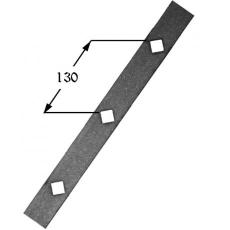 Pletina perforada 405 02 forja rafael c b - Pletinas de hierro ...