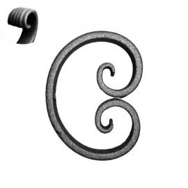 Ce de hierro forjado 052-04